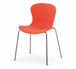 Стул пластиковый Molly orange XRB-078-AO