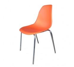 Стул пластиковый Flora orange XRF-033-DO