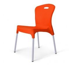 Стул пластиковый Emy orange XRF-065-AO