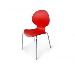 Стул пластиковый Bary red SHF-008-R