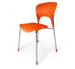 Стул пластиковый Tera orange SHF-003-O
