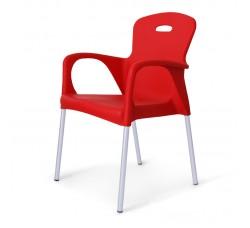 Стул пластиковый Remy red XRF-065-BR