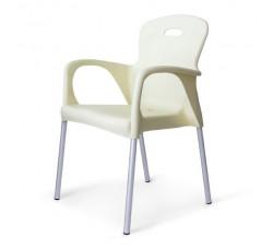 Стул пластиковый Remy white XRF-065-BW