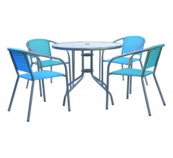 Комплект мебели для кафе ХRB-035А-D90