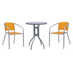 Комплект мебели для кафе ХRB-035E-D60  ORANGE