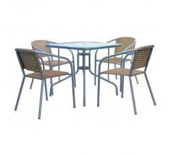 Комплект мебели для кафе XRB-035С-80x80