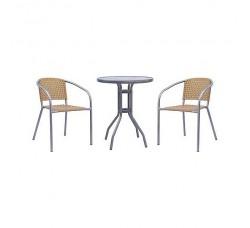 Комплект мебели для кафе XRB-035С-D60 BEIGE
