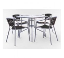 Комплект мебели для кафе XRB-035В-80x80