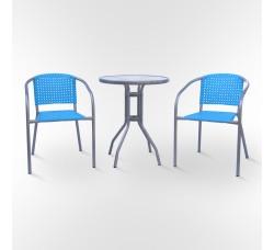 Комплект мебели для кафе XRB-035А-D60 BLUE