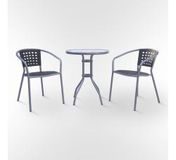 Комплект мебели для кафе ХRB-042В-D60