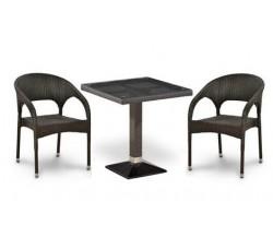 Комплект садовой мебели 2+1 (иск. ротанг) T-505SWТ (W2390)-Y90C-W2390