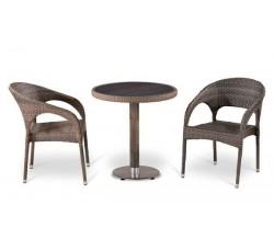 Комплект садовой мебели 2+1 (иск. ротанг) T501DG-Y90CG-W1289