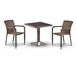 Комплект садовой мебели 2+1 (иск. ротанг) T502DG-A2001G-W1289