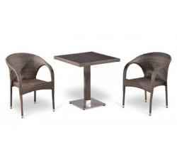 Комплект садовой мебели 2+1 (иск. ротанг) T502DG-Y290BG-W1289