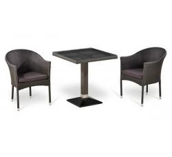Комплект садовой мебели 2+1 (иск. ротанг) T505SWT-Y350W-W2390