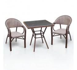 Комплект дачной мебели А1016-D2003 (2 кресла, стол)
