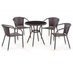 Комплект мебели из искусственного ротанга Bridge-1 (4+1) T282ANS/Y-137C (W51)