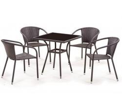 Комплект мебели из искусственного ротанга Bridge-2 (4+1) T282B/ Y-137C3PCS