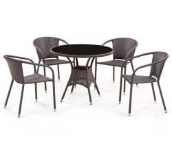 Комплект мебели из искусственного ротанга T197A-Y137B