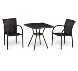 Комплект мебели (иск. ротанг) Т282BNT- W2390/Y282А-W52
