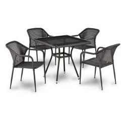 Комплект садовой мебели 4+1 (иск. ротанг) T283BNT/Y-354PCS-W2390