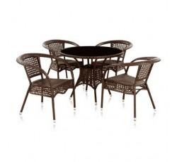 Комплект мебели Лион (иск. ротанг) T220C/Y-32