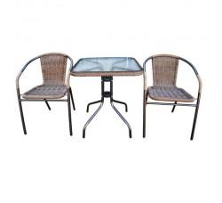 Набор мебели для кафе Асоль-2А капучино