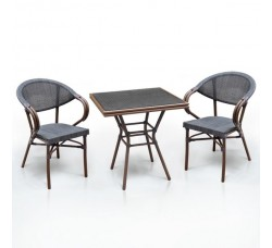 Комплект дачной мебели А1016-D2003S (2 кресла, стол)