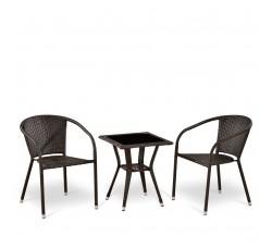 Комплект мебели из искусственного ротанга Y137C\T25