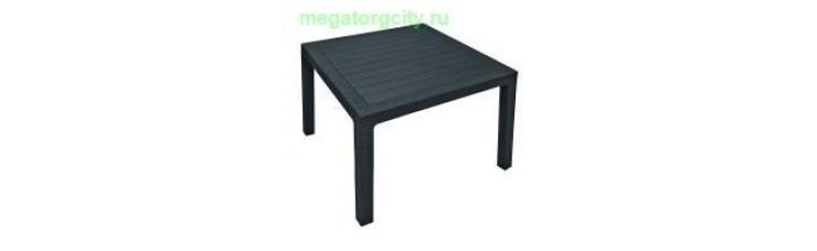 Квадратный стол Melody Quartet. графит