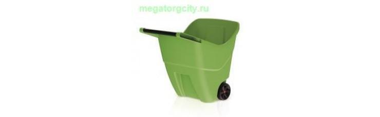 Садовая тележка Prosperplast Load  Go II 85л. оливковый