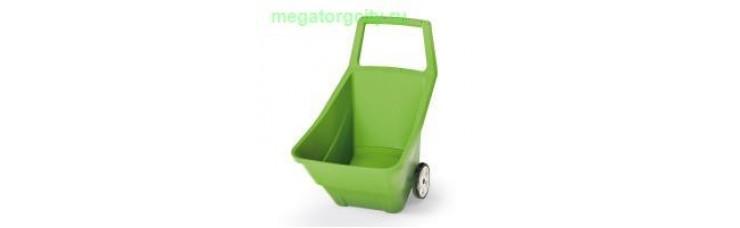 Садовая тележка Prosperplast Load  Go III 95л. оливковый