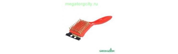 Щетка-скребок для гриля Green Glade 9016