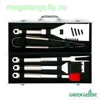Набор для гриля Green Glade SC005 5 предметов в чемодане