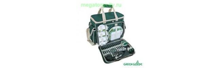 Набор для пикника Green Glade Т3134 24л   34 предмета