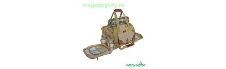 Набор для пикника Green Glade Т3200 30л   36 предметов