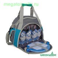Набор для пикника Green Glade Т3207 10л   30 предметов