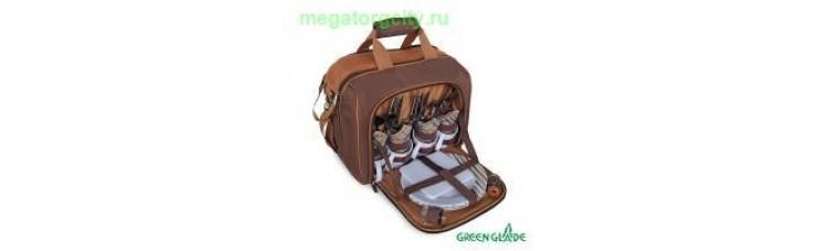 Набор для пикника Green Glade Т3338 15л   34 предмета