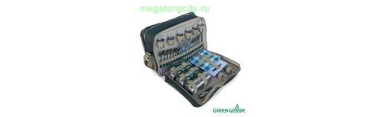 Набор для пикника Green Glade Т3653 18л   48 предметов