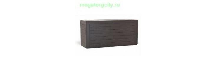 Ящик для хранения Prosperplast Woodebox 280л. венге