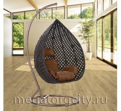 Плетеное подвесное кресло Азалия (250B-L) 125х104х71 см