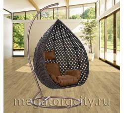 Плетеное подвесное кресло Азалия (250B-XL) 136х112х74 см