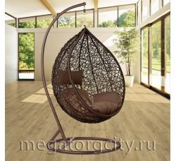 Плетеное подвесное кресло Камелия (168A-L) 117х100х67 см