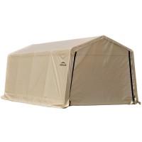 Тент для Гаража 3x6,1x2,4м ShelterLogic, цвет песочный