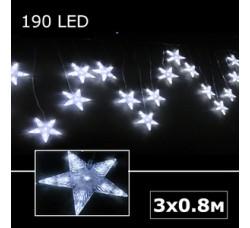 Светодиодные звезды белый
